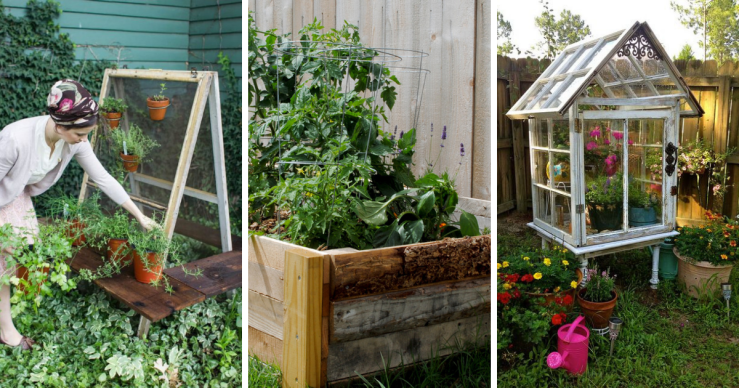 5 Spring DIY Projects Using Reclaimed Wood & Vintage Materials