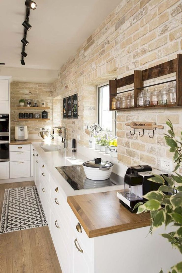 Farmhouse-Kitchen-Elements-DIY-bricks