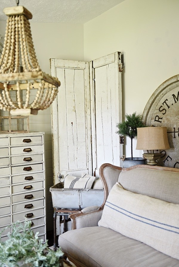 farmhouse style elements antique door